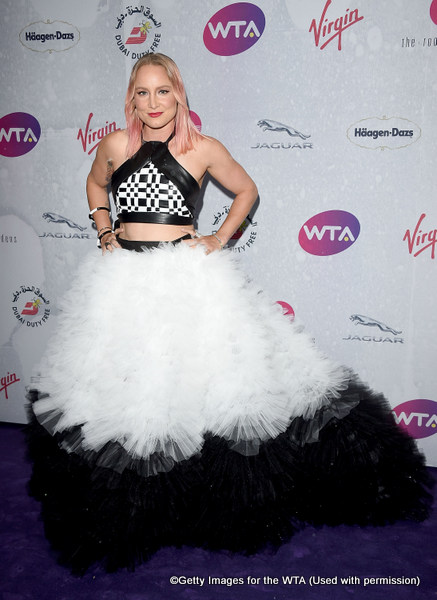 LONDON, ENGLAND - JUNE 23:  Bethanie Mattek-Sands attends the annual WTA Pre-Wimbledon Party presented by Dubai Duty Free at the Kensington Roof Gardens on June 23, 2016 in London, England.  (Photo by Stuart C. Wilson/Getty Images for WTA Tour)