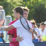 Dimitrov Wawrinka hug 2