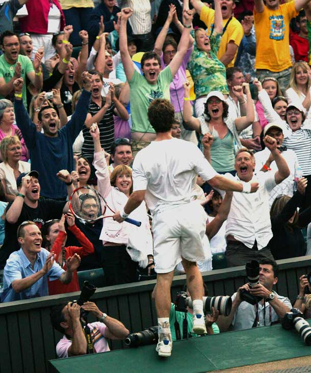 Murray will face Roddick who once knocked him out at Wimbledon