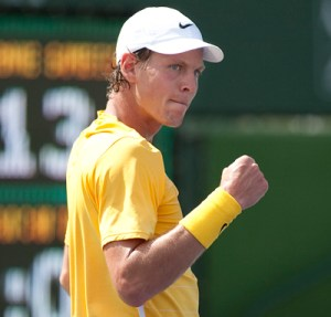 Berdych has taken his excellent Madrid form to Rome.
