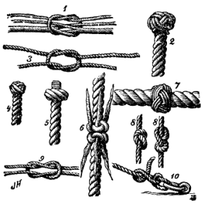 Learn how to make knots
