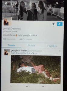 georgia connick twitter