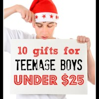 10 Gifts for Teenage Boys under $25