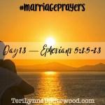 #MarriagePrayers: Ephesians 5:25-28