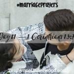 #MarriagePrayers: 1 Corinthians 13:7