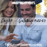 #MarriagePrayers: Galatians 5:22-23