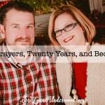 Marriage Prayers, Twenty Years, and Becoming One