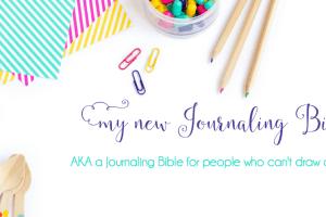 My New Journaling Bible || HCSB Illustrator's Notetaking Bible