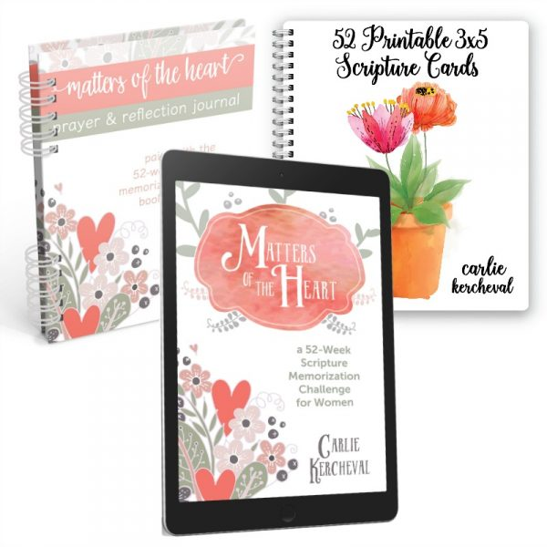 Matters of the Heart bundle || If you've been wanting a great resource for memorizing Scripture, this is it!