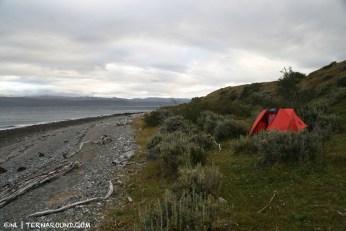 No frills wild camping