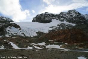 Monte Alvear's summit