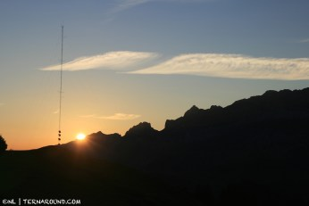 7.03 a.m. sunrise