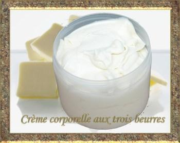 crème corporelle  aux trois beurres copie copie