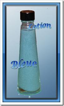 lotion bleue