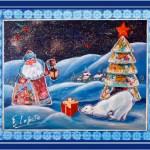 Tableau de Noël numéro 1