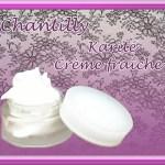 Chantilly crème fraîche – karité