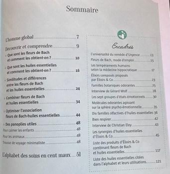 sommaire livre Martine