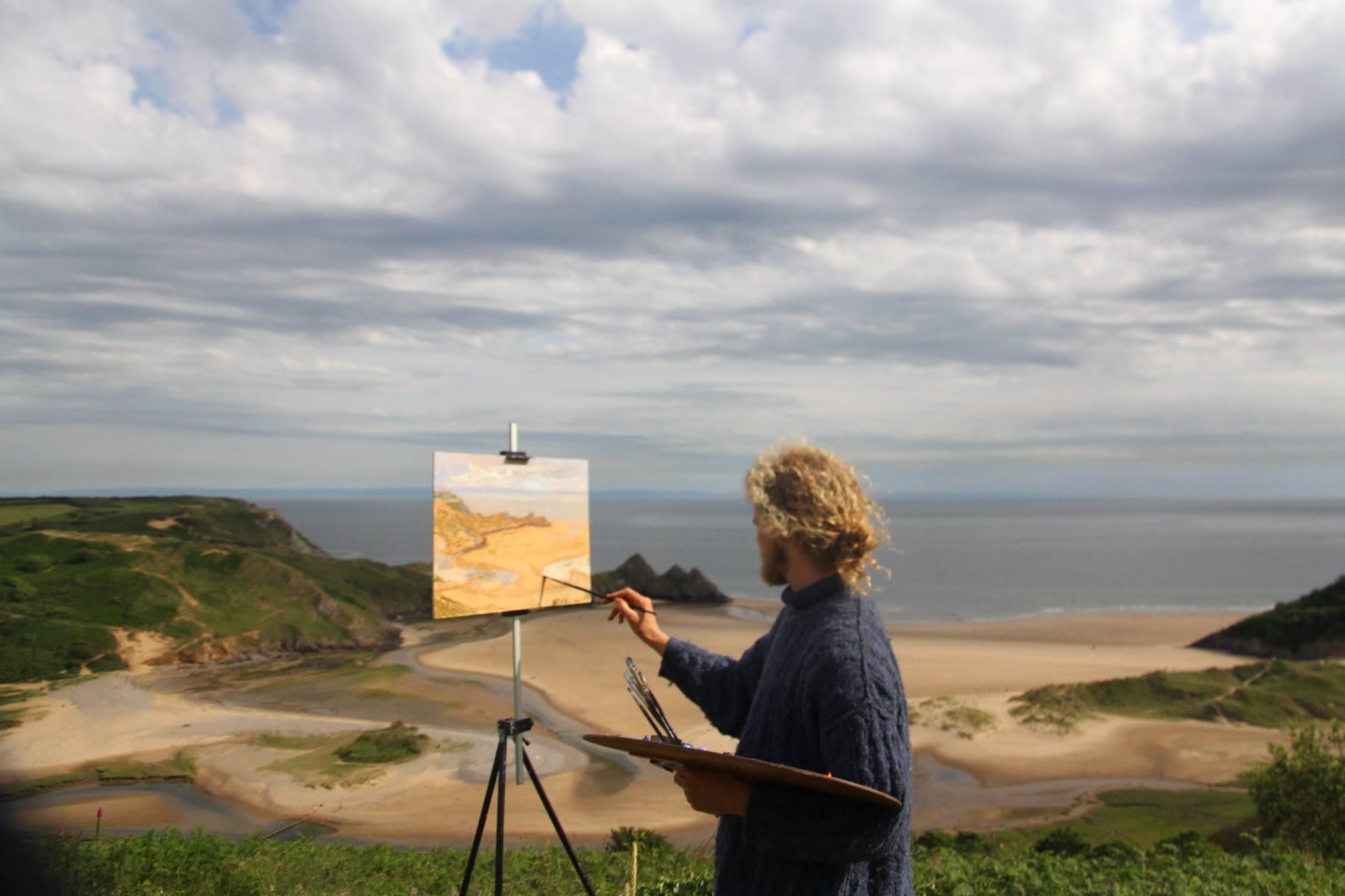 Landscape Painting Summer Workshop – Chapman Hamborg
