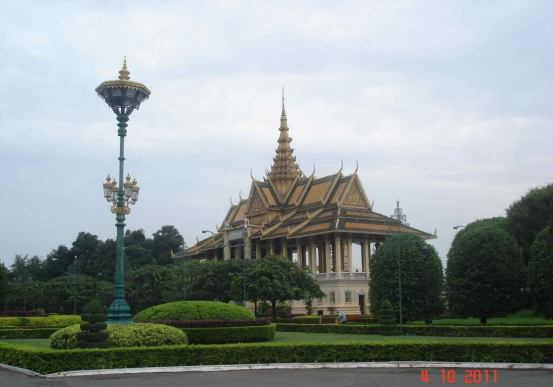 Chan-Chaya-Pavilion-Dancing or Moonlight Pavilion, Royal Palace Phnom Penh