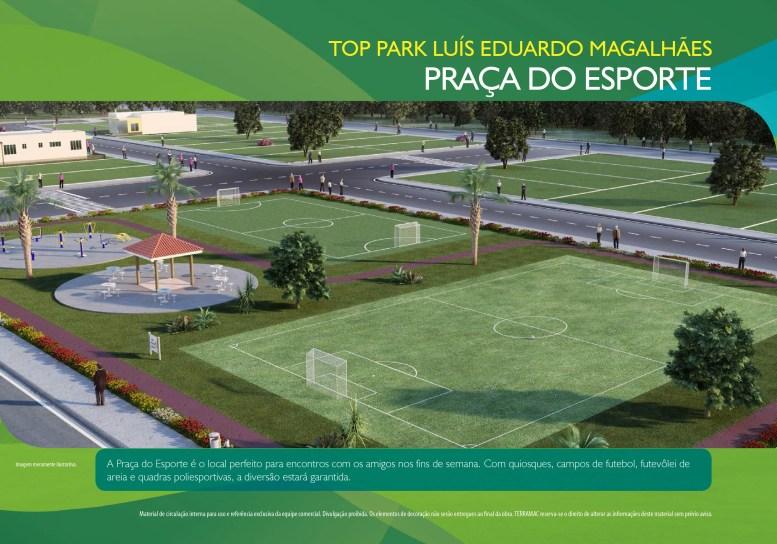 Loteamento Top Park - Terramac Empreendimentos - Praça do Esporte