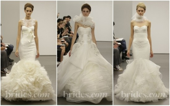 Vera wang fall bridal dress 2013