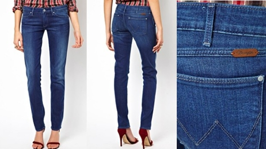 Wrangler Denim Spa: Jeans Anti-Selulit
