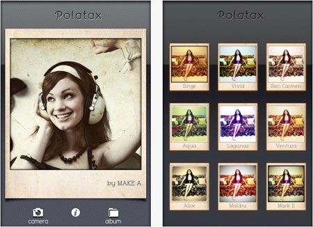 Polatax, Aplikasi Edit Foto Polaroid di iPhone