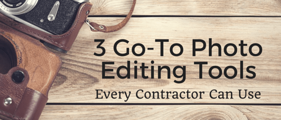 3 Go-To Photo Editing Tools