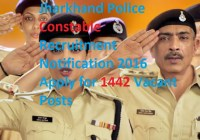 Jharkhand Police Constable Recruitment 2016