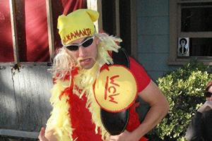 Feeling like Hulk Hogan at the Erwin Park race