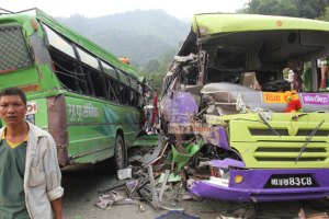 Five killed, 36 injured in Dhading Bus Collision - TexasNepal