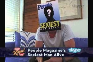 Jimmy Kimmel Reveals People Magazine's Sexiest Man Alive - TexasNepal News