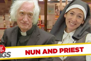 Nun and Priest Pranks – Best of Just For Laughs Gags - TexasNepal News