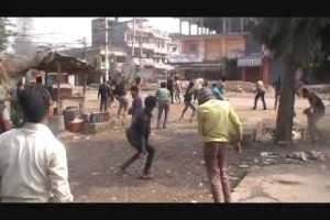 Locals, Police Clash in Simara, Police Post Tourched (Video) - TexasNepal News