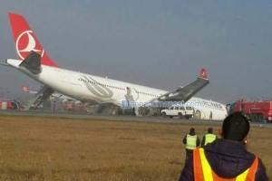 Turkish Airlines Plane Crashes At Tribhuvan International Airport - TexasNepal