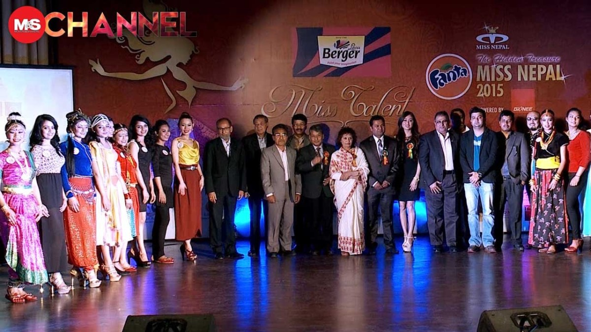 Miss Nepal 2015 Talent Show