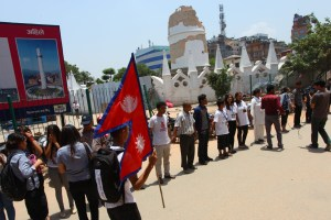 Memorial Procession: One Month Of The Destructive Earthquake - TexasNepal News