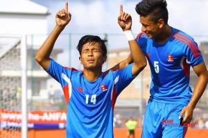 Nepal Beats Bangladesh U-19 2-1, Enters Semifinals As A Group Winner - TexasNepal News