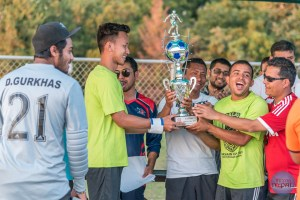 Dallas Gurkhas Green Lifts The Dashain Cup 2015 - TexasNepal News
