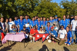 Dashain Volleyball Tournament 2015 - TexasNepal Entertainment