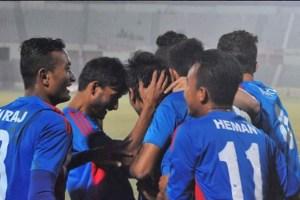 Nepal Wins Banganbadhu Gold Cup Beating Bahrain U23 3-0 - TexasNepal News