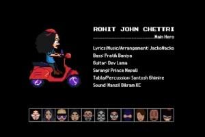 Rohit John Chettri Goes Nintendo For 'Sannani's Music Video - TexasNepal