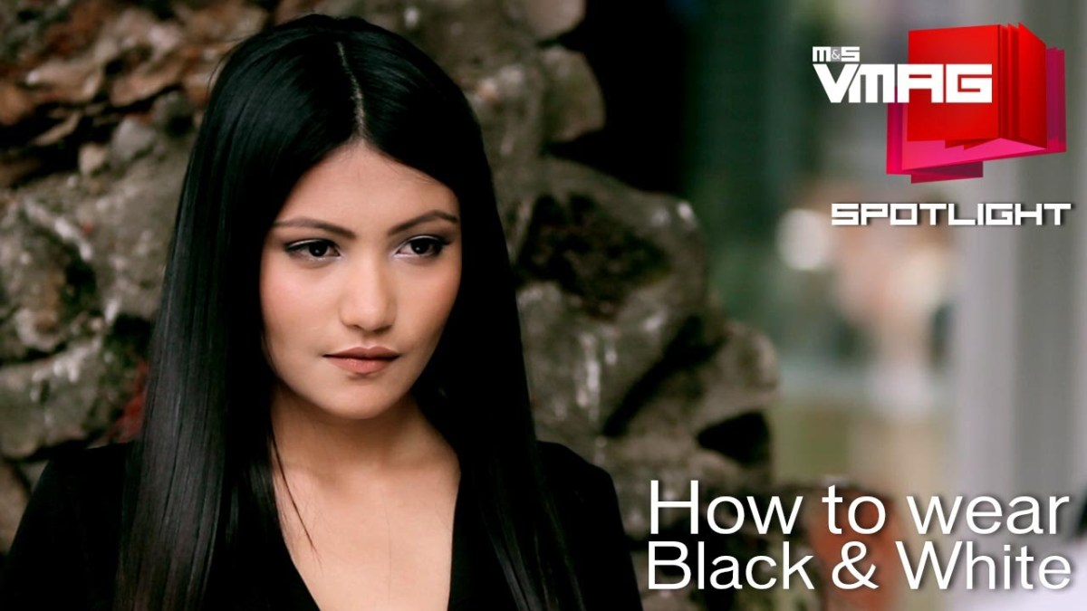 M&S Vmag How to dress Black & White Like a Pro