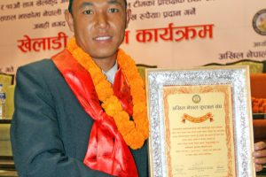 Raju Tamang Becomes Best Footballer of the Year '72 - TexasNepal News