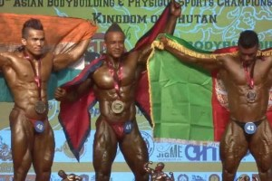 Nepal's Mahesh Maharjan Wins Gold At Asian Bodybuilding Championship - TexasNepal News