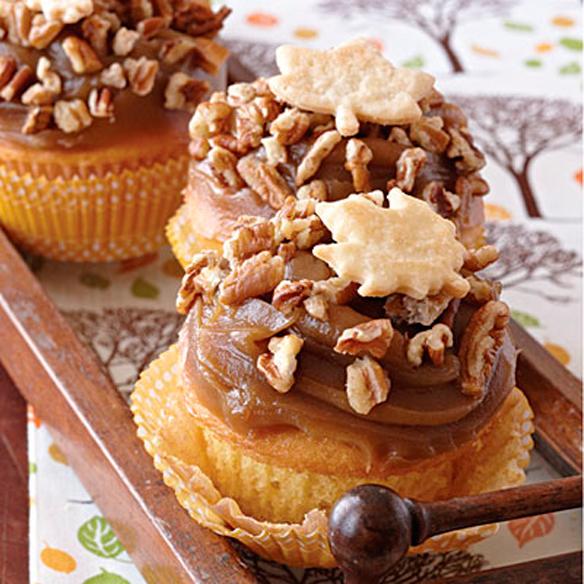 Pecan-Pie-Cupcakes