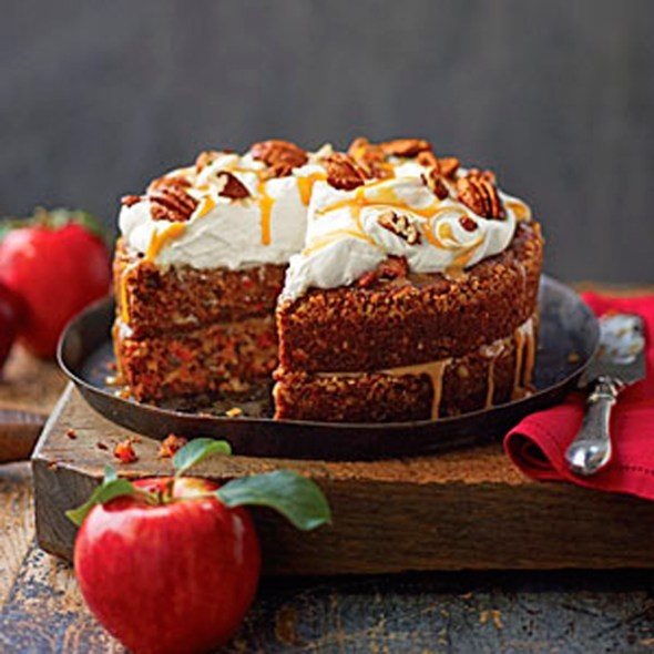 Apple-Pecan-Carrot-Cake