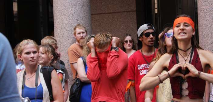 Once again, Satanists support the abortion lobby in Texas