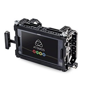 Seercam-SCASC-Cube-Cage-for-the-Atomos-Shogun-with-Side-Bar-Handle-Black-B01C6Q3XKY