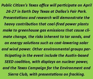 PC Earthday Texas Announcement